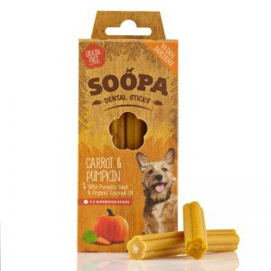 Soopa Dental Sticks – Gulerod & græskar