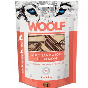 Woolf Soft Sandwich Of Salmon – Laks